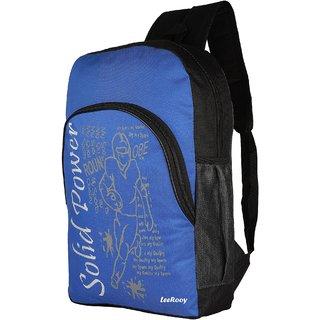 LeeRooy Nylon 24 Ltr Blue Sling Bag Backpack For Men
