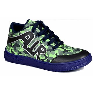 Military Color Running Sports Shoe For Kids