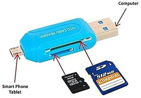 Universal Card Reader Micro USB OTG SD TF 4 In 1 For Mo