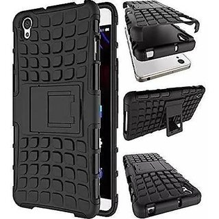 Japang Armor Hybrid Defender Back Cover Kick Stand For Lenovo A6000 A 6000 Plus Mobile Phone
