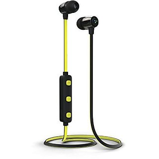 Syska H-15 Wireless Bluetooth Headset H15 Earphone yellow