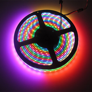 LED STRIP LIGHTS FOR DECORATION , 5 METER MULTICOLOR STRIP LED LIGHT DIWALI  FESTIVAL PARTY PUJA HOME WALL DCOR CHRISTMAS CodeRB,8809