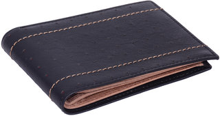 Style Men's Designer Casual Wallet Purse Genuine Pure Leather High Quality Birthday Anniversary Gift Bi-Fold 03