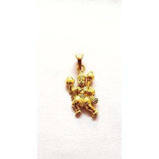 Hanuman Ji Pendant With Gold Plating