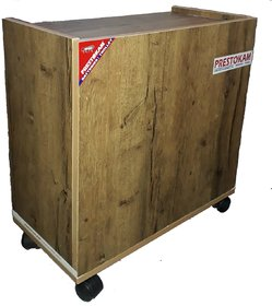 Prestokam Wooden Inverter Battery Trolley
