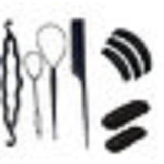 gulzar Hair Styling Tools Braid Tool Set Weave Braid Twist Tool Disk Hair Kit Pull Hair Pin Twist Styling Clip Comb Hair