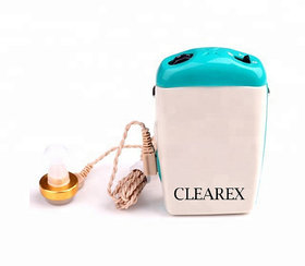 clearex  Professional Pocket Wired Sound Amplifier Z-710 In the Ear Hearing Aid