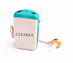 clearex  Professional Pocket Wired Sound Amplifier Z-712 In the Ear Hearing Aid