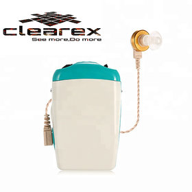 clearex  Professional Pocket Wired Sound Amplifier Z-713 In the Ear Hearing Aid