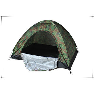 4b94e585e8d Ezzi Deals Military Picnic Camping Portable Waterproof Dome Tents for 4  Persons(Camouflage)