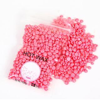 Konsung Beauty Hot Wax Beans Natural Hair Removal Bean (Pink) 100 g