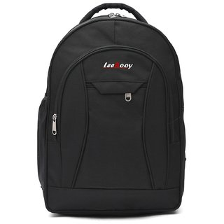 f6ad205bef7a Buy LeeRooy Canvas 23 Ltr Black School Bag Backpack For women Online ...