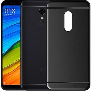 Redmi Note 5 Black Back Cover Standard Quality