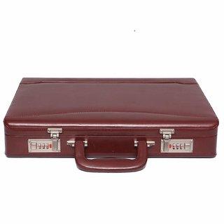 JASHMIN Faux Leather Briefcase BlackJB123