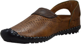 Vams Beige Casual Sandals For Men