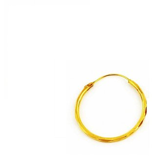 Buy Vinayak Sober Gold Nose Ring Online 2595 From Shopclues