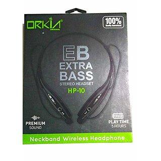 Orkia Original Wireless Extra Bass Headphone HP-10/ HP-11 white/black