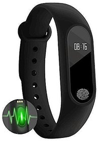M2 Waterproof Smart Band with Heart Rate Monitor and Fitness Tracker