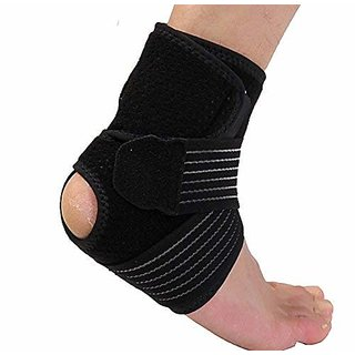 PROSPO Medico-Rehab Adjustable Ankle Brace  Wrap Set / Breathable Neoprene/ Ankle Support Wrap and Stabilizer/ Made of