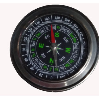 7.5cm Mini Compass Stainless Steel Portable Compass Outdoor Climbing Hiking Field Survival Emergency Tool