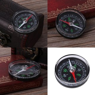 Metal Stainless Steel Outdoor Mini Handheld Portable Compass Climbing Hike Gift