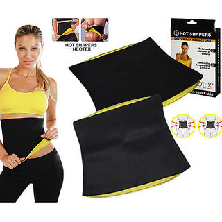 Eastern Club Hot Shaper Unisex Belt for Reduce Tummy and Waist Fat (pack of 2)