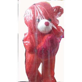 Standing Red Teddy Bear