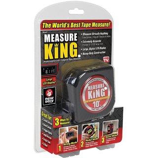 Measure King 3-in-1 Digital Tape Measure String Mode Sonic Mode Roller Mode As seen On Tv