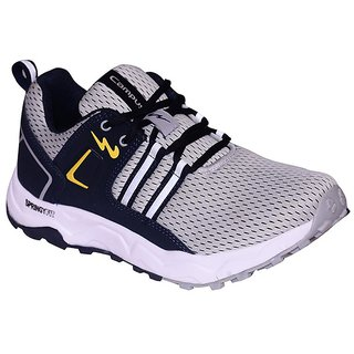 CAMPUS GREY COLOR COMFORTABLE RUNNING / LIFESTYLE SPORTS SHOES FOR MEN