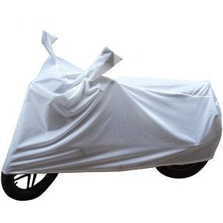 5524b63112 Buy Bikenwear Body Cover-(White) for Suzuki Swish 125 Facelift Online - Get  43% Off