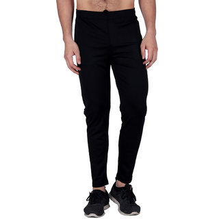 Ablooom Sports Grey Polyester Lycra Joggers
