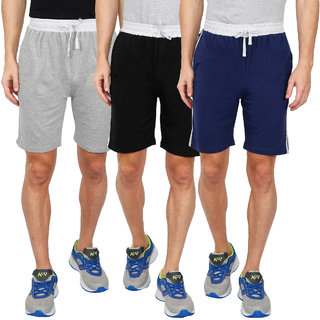 CLOUD IMPEX - Men's Cotton Shorts (Pack of 3)
