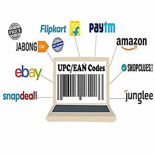 500 UPC/EAN Codes for Amazon/Shopclues/Snadpdeal Or any E commerce Product Listing (Email Delivery) Fast