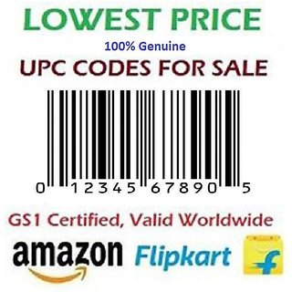 Buy 500 UPC/EAN Codes for Amazon/Shopclues/Snadpdeal Or any E commerce  Product Listing (Email Delivery) Fast Online - Get 60% Off