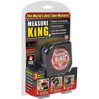 PH Artistic Measure King 3-in-1 Digital Tape Measure String Mode Sonic Mode Roller Mode As seen On Tv
