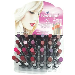 Neckline Creamy Matte waterproof lipstick set of 24