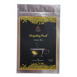 Virasat Darjeeling Fresh Green Tea 100 Gram