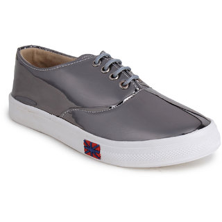 Fiteh Women's Silver Sneakers