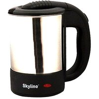 G-MTIN Skyline VTL 5013 Electric Kettle  (0.5 L, BlackIISilver)