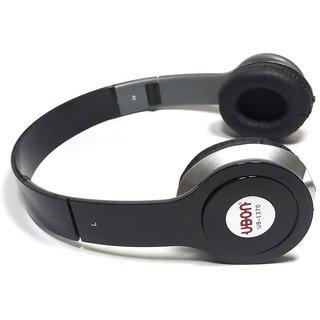 Ubon UB-1370 On Ear Headphones with UBON pure bass and mic - Mix Color