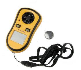 Hot wire wireless Digital Wind Velocity Temperature wind meter Anemometer Digital Anemometer