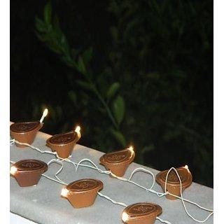 Diya Shaped Diwali Rice Lights
