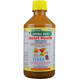 Herbal Daily Heart Health 400 ml for Heart, BP and Blockages