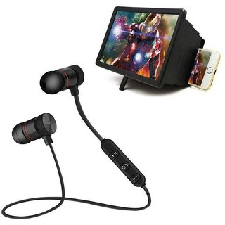 Wellbeing Within New 3D Magnifier F2 Screen Theater With Magnetic Bluetooth Stereo Headset (Multicolor)