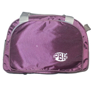PBH P031 Lightweight Travel Bag Purple with Grey Color
