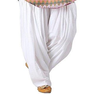 Siddhi cotton premuim white patiala