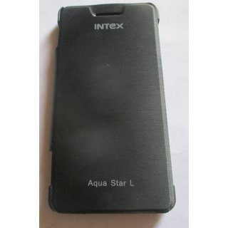 Intex Aqua Star L Mobile Back Flip Cover Cases