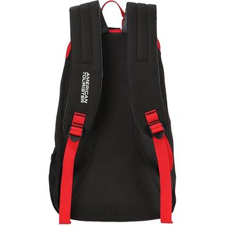5809dabb9446 American Tourister Fit Pack Gym/Laptop 21 L Backpack (Black, Red)