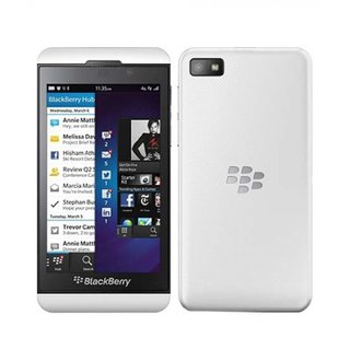 Refurbished BlackBerry Z10 4G 16GB ROM 2GB RAM (White)