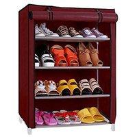 Style Maniac Brings Multicolor Shoe Rack 4 Shelves Meta